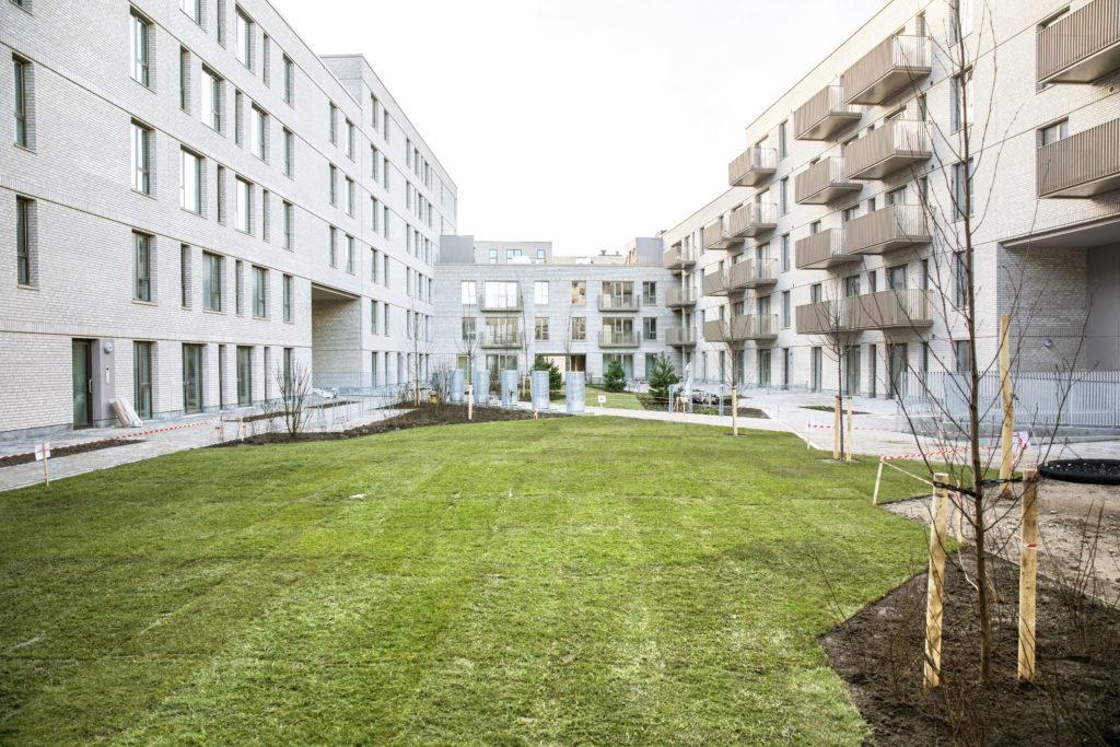 Græsplæne Nadinehus Bellakvarter