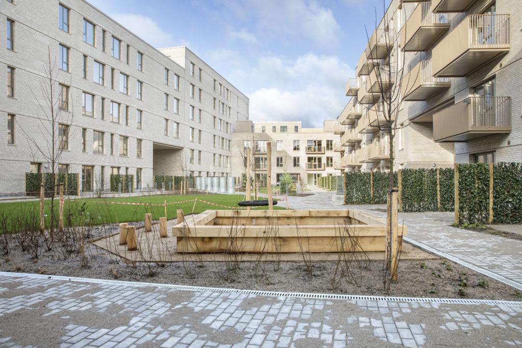 Legeplads Nadinehus Bellakvarter Ørestad