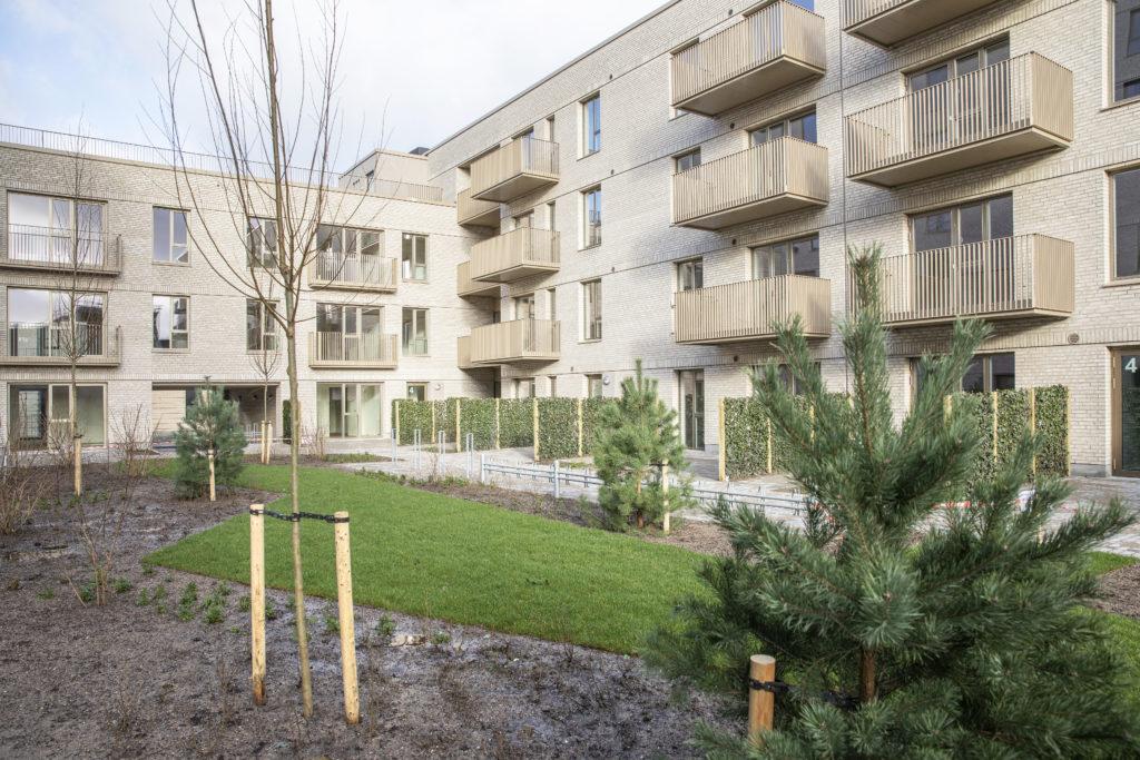 Grøn oase Nadinehus Bellakvarter